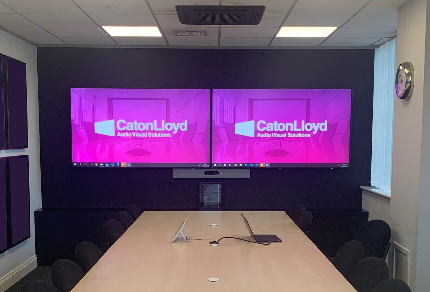 Meeting Room Installation for a leading Sports Clothing Retailer in Manchester